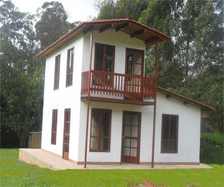 Casas 2 pisos casas prefabricadas bonilla - Habitaciones de madera prefabricadas ...
