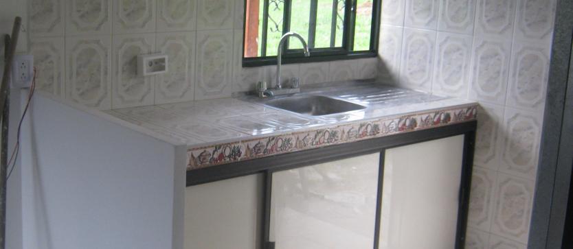 Enchape de cocina casas prefabricadas bonilla for Enchapes para cocina